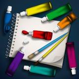 Schreibens-Geräte Lizenzfreie Stockbilder