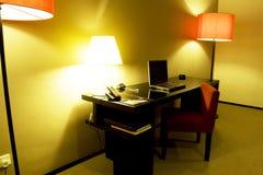 Schreibens-Tabelle Lizenzfreies Stockbild