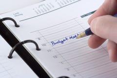 Schreibens-Tagebuch lizenzfreie stockbilder