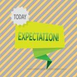 Schreibensanmerkung, die Erwartung zeigt Das Geschäftsfoto, das meteorologischen Forschungsanalytiker zur Schau stellt, sagt Wett vektor abbildung