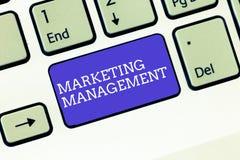 Schreibensanmerkung, die Vertriebsleitung zeigt Die Geschäftsfotopräsentation entwickeln sich annoncieren fördern ein neues Produ lizenzfreies stockfoto