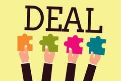 Schreibensanmerkungs-Vertretung Abkommen Die Geschäftsfotopräsentation nehmen am Handelshandel eines bestimmten Produktes ist bet vektor abbildung
