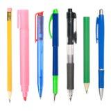 Schreibensinstrumente Lizenzfreies Stockfoto