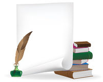 Schreibensmaterialien Lizenzfreies Stockbild