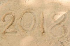 Schreibenszahljahr Lizenzfreie Stockfotos