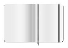 Schreibheftschablone Stockbilder