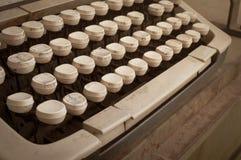 Schreibmaschine lizenzfreies stockbild