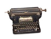 Schreibmaschine lokalisiert stockbild