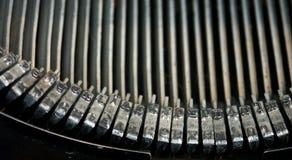 Schreibmaschine - notiert Stockfotografie