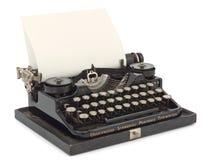 Schreibmaschinen-Nahaufnahme Lizenzfreie Stockfotografie