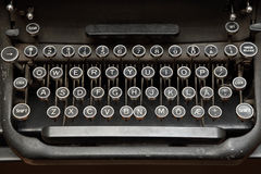 Schreibmaschinen-Tastatur Lizenzfreies Stockbild