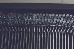 Schreibmaschinenbuchstaben 3 stockfotos