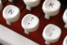 Schreibmaschinennahaufnahme lizenzfreies stockbild