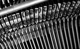 Schreibmaschinensymbole Lizenzfreie Stockbilder