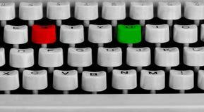 Schreibmaschinentastatur Stockfotos