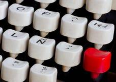 Schreibmaschinentastatur Stockfoto