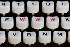 Schreibmaschinentastatur Stockbilder