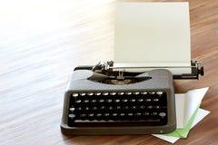 Schreibmasschine High Key corner. Conic typewriter from bestselling novel stock photos