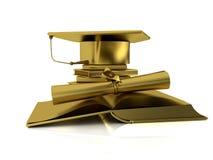 Schreibt Junggesellen vom Gold zu Stockfoto