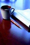 Schreibtisch Lizenzfreies Stockfoto