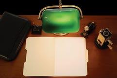 Schreibtisch Stockfoto