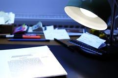 Schreibtisch Lizenzfreie Stockfotografie