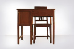 Schreibtisch-ADN-Stuhl Lizenzfreie Stockfotos