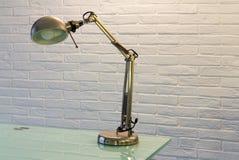 Schreibtisch Lamp Lizenzfreies Stockbild