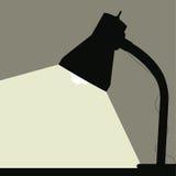 Schreibtisch-Lampe Stockfoto