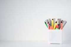 Schreibtisch sauber Lizenzfreie Stockfotos