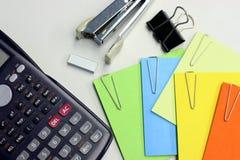 Schreibtischbüro Lizenzfreie Stockfotos