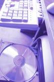 Schreibtischcomputerteile Stockbilder
