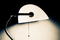 Schreibtischlampe Lizenzfreies Stockbild