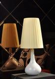 Schreibtischlampen-Tabellenlicht Stockfoto