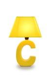 Schreibtischlampen-Tabellenlicht Lizenzfreies Stockfoto