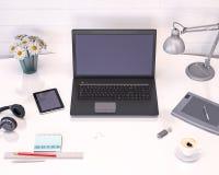 Schreibtischspott oben Lizenzfreie Stockfotos