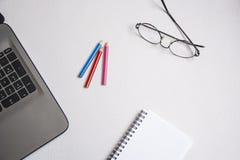 Schreibtischtabelle Lizenzfreies Stockfoto