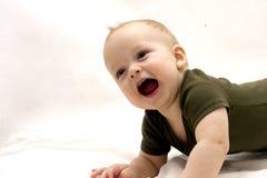 Schreiendes Säuglingskind Lizenzfreies Stockbild