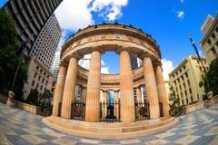 Schrein der Erinnerung Brisbane Fisheye Lizenzfreies Stockfoto