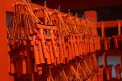 Schrein Fushimi Inari in Kyoto Japan Lizenzfreies Stockfoto