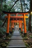 Schrein Hanazono Inari in Tokyo Lizenzfreies Stockfoto