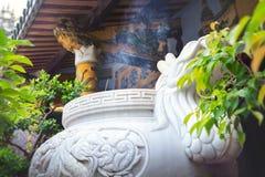 Schrein im buddhistischen Tempel Lizenzfreie Stockfotografie