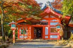 Schrein Kasuga Taisha in Nara Lizenzfreies Stockbild