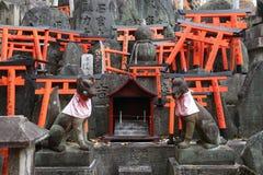 Schrein in Kyoto lizenzfreies stockfoto
