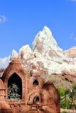 Schrein vor Everest Stockfoto
