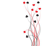 Schürhaken, Brücke - Kartenspiel Stockfotografie