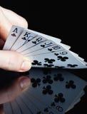 Schürhakenkarten Lizenzfreie Stockfotos