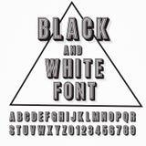 Schrifttyp 3D Lizenzfreie Stockbilder