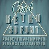 Schrifttyp 3D Stockfotos