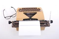 Schrijfmachine. Stock Foto's
